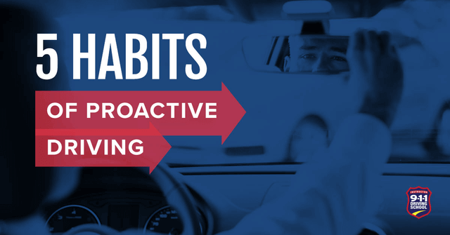 5 habits of proactive driving
