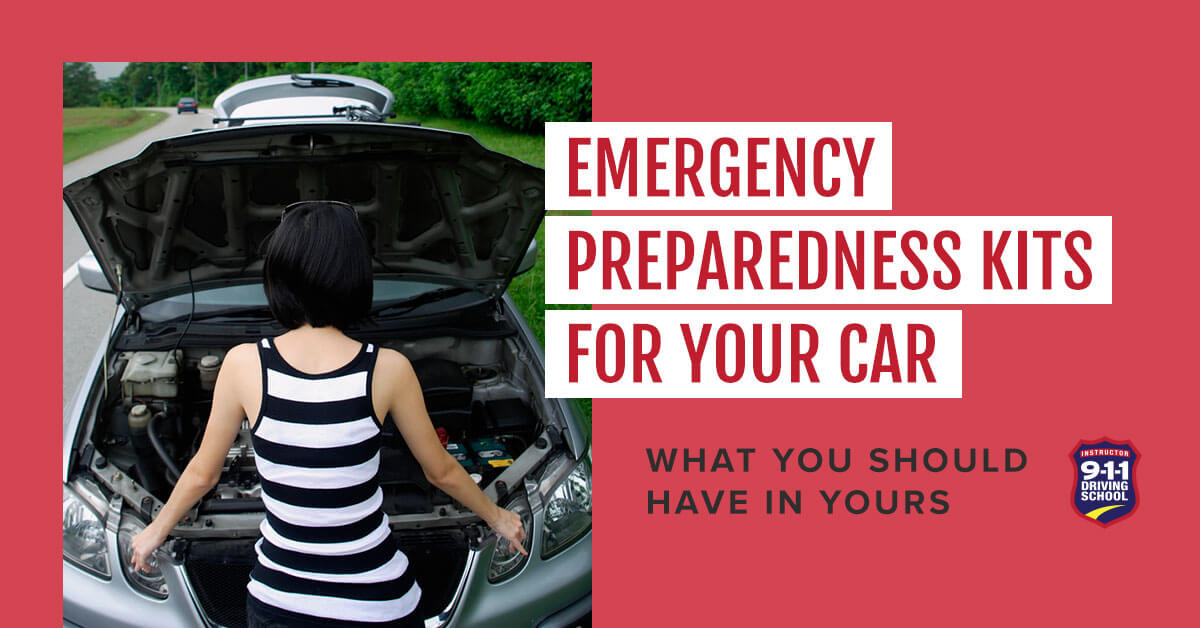 Emergency Preparedness Kits for Your Car | 911 Driving School