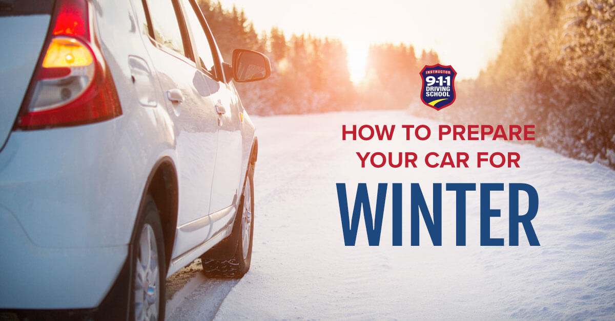 How to Prepare Your Car for Winter | 911 Driving School