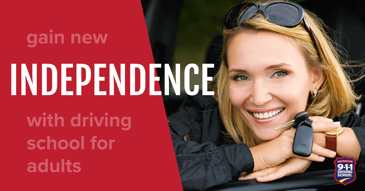 911 Driving School - Gain New Indepence with Driving School for Adults