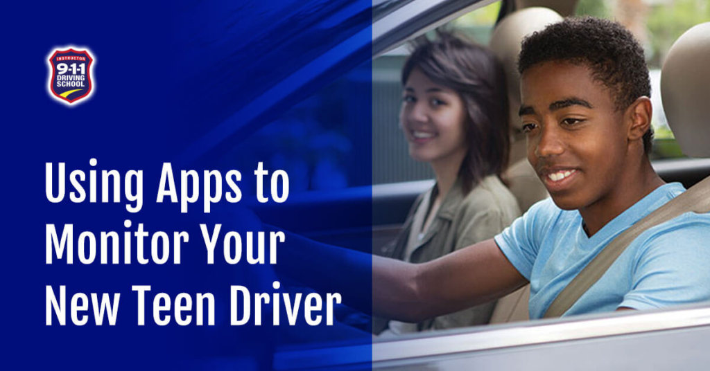 apps for teen driver tracking