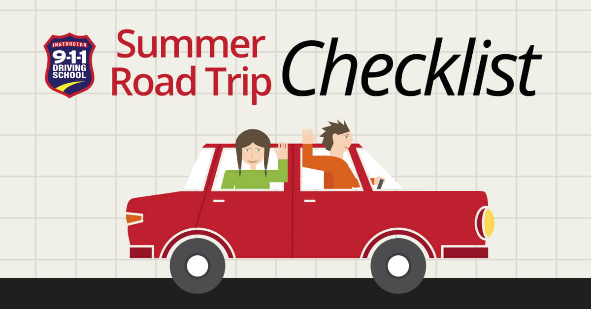 Road Trip Check List